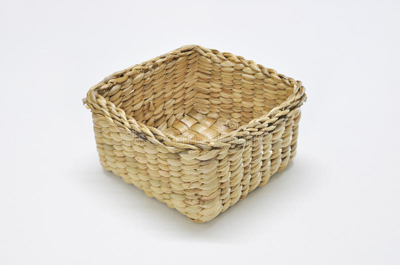 Water hyacinth basket stock photography