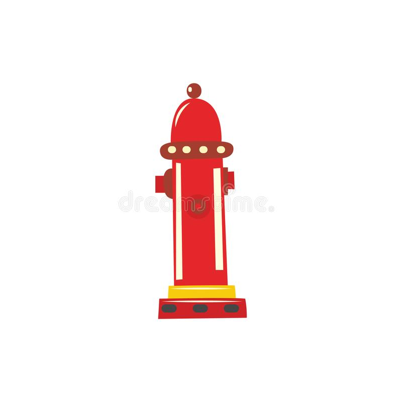 Vector water hydrant icon stock illustration