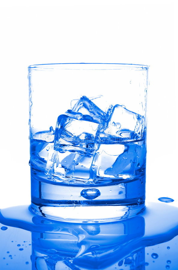 Download Water with ice cubes stock photo. Image of fresh, cold - 2603168