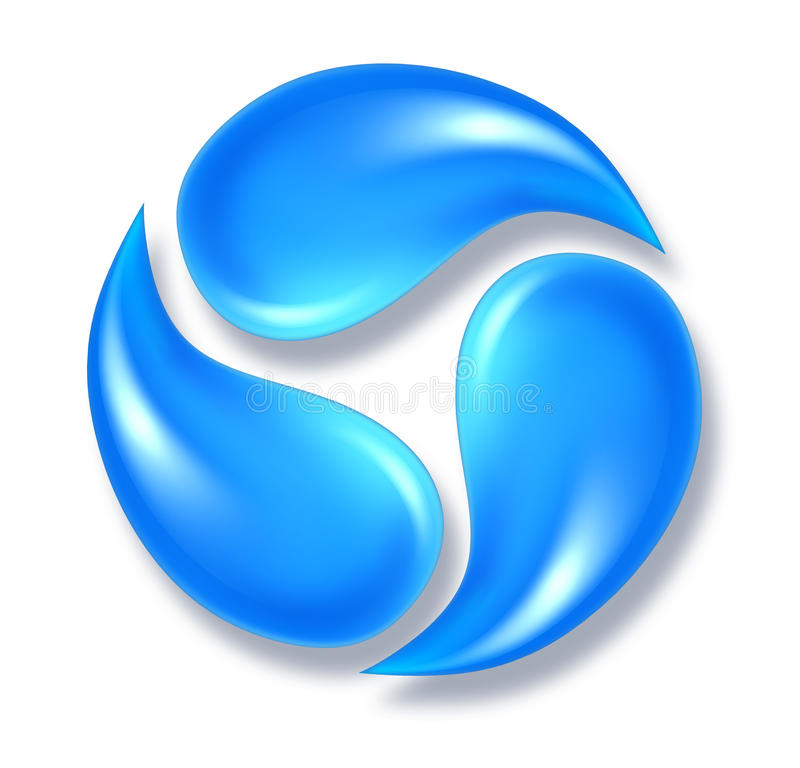 Free Water Icon Royalty Free Stock Images - 21269979