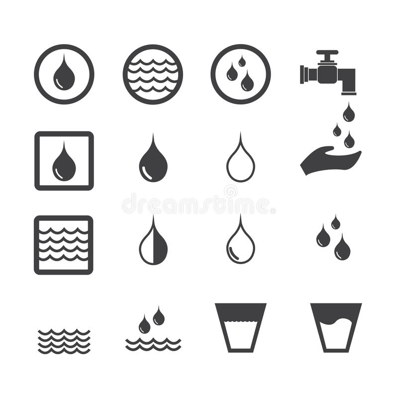 Water Icon Stock Vector Illustration Of Liquid Simplicity 63922517