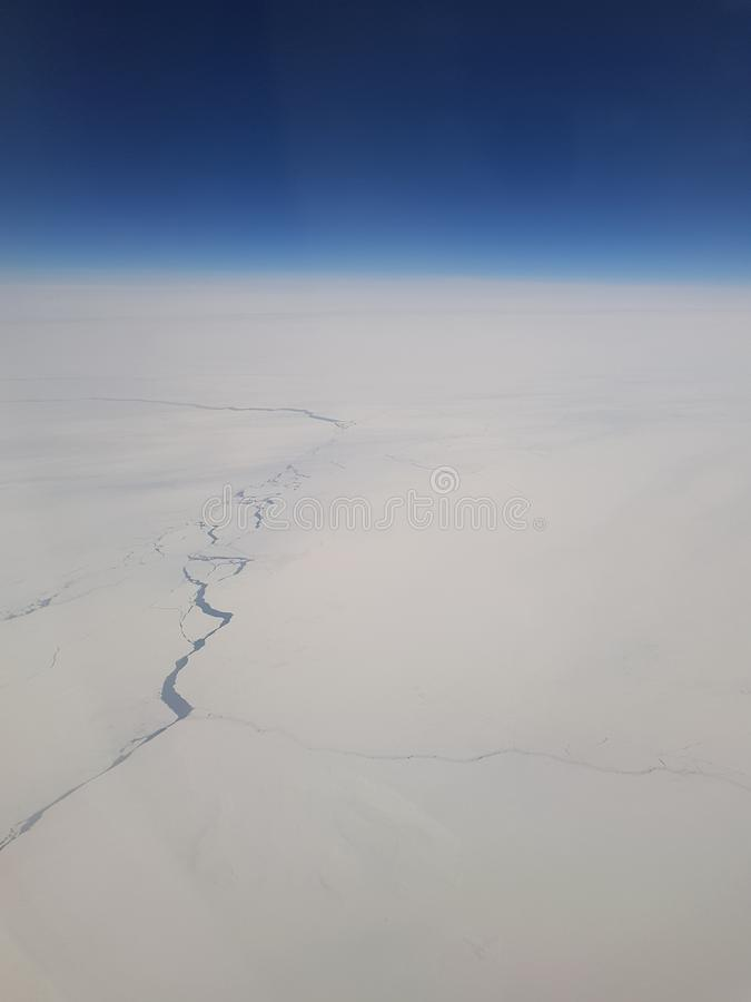 Water, ijs, koud Antarctica, polair, weiss, blau royalty-vrije stock foto's