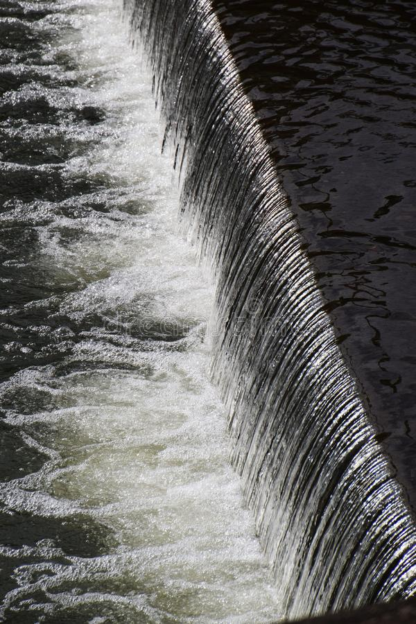 Water movement / background material. Water is indispensable to every living creature, but sometimes it becomes a devil and attacks it royalty free stock photo