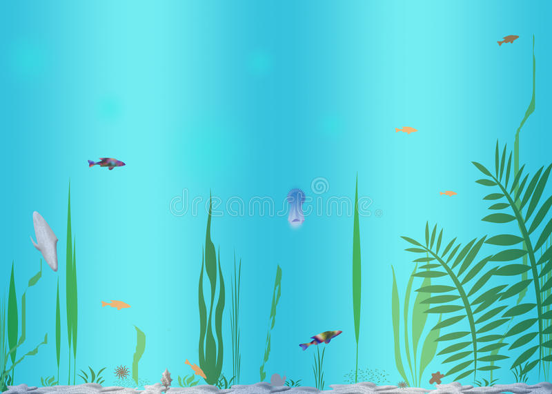 Download Water Inhabitants stock illustration. Illustration of brilliance - 20700984