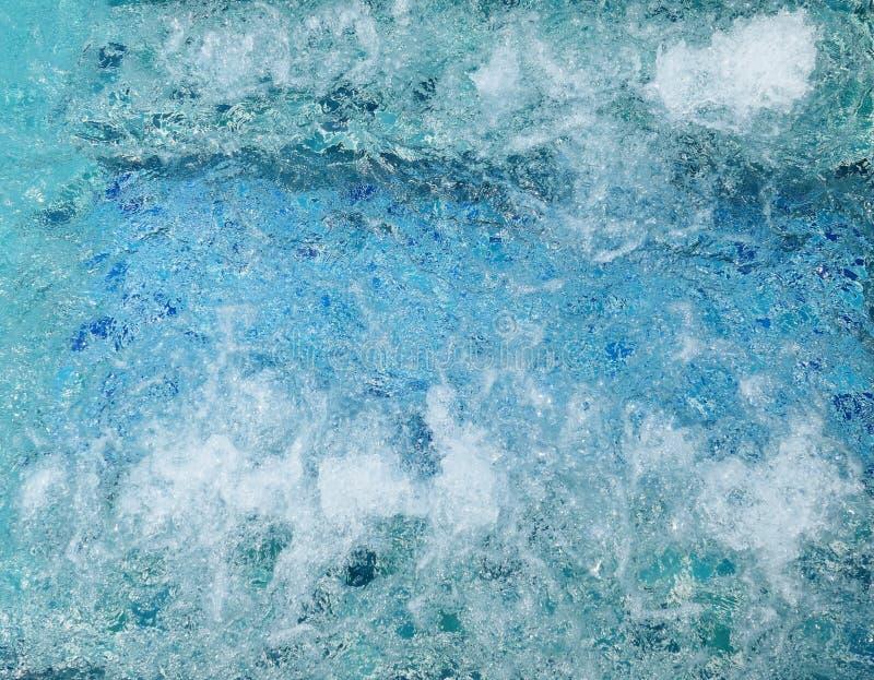 Water in Jacuzzi stock foto