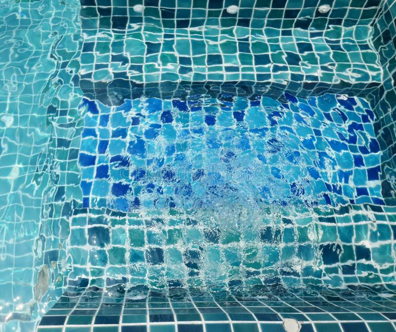 Water in Jacuzzi royalty-vrije stock foto's