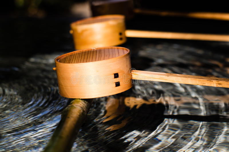 Water Ladles royalty free stock images