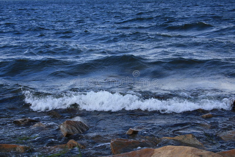 Water of lake royalty free stock photography