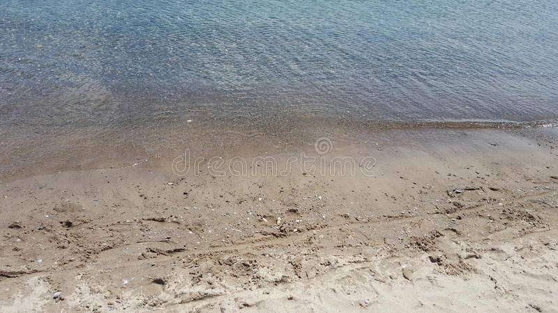 Water and land royalty free stock photos