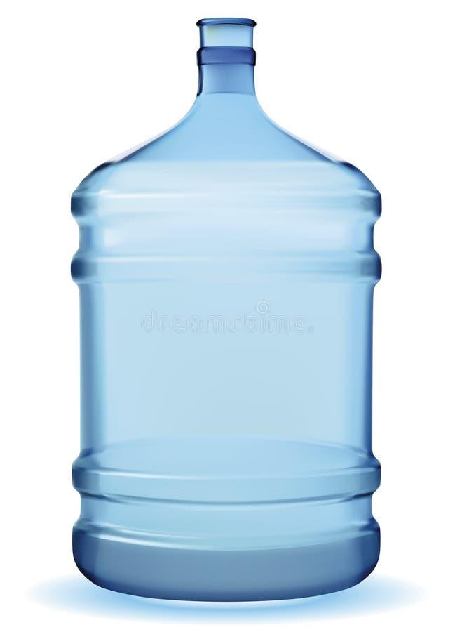 Water large bottle royalty free illustration