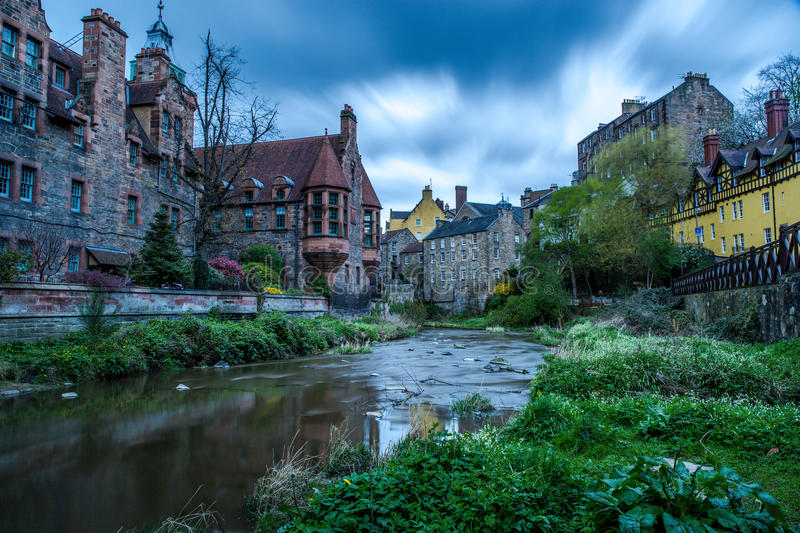 Water of Leith royalty free stock photos