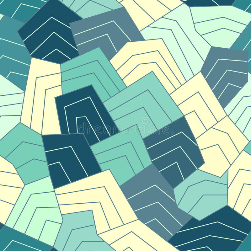 Free Water Lines Seamless Pattern Royalty Free Stock Photography - 38808027