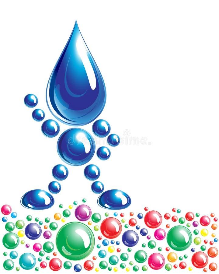 Download Water Man, Icon, Stock Image - Image: 14131361