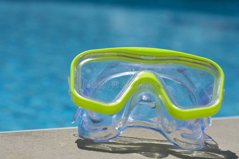 Water mask royalty free stock photo