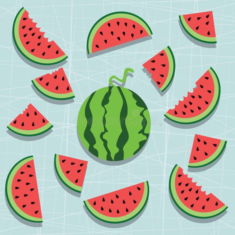Water melon royalty free stock photo