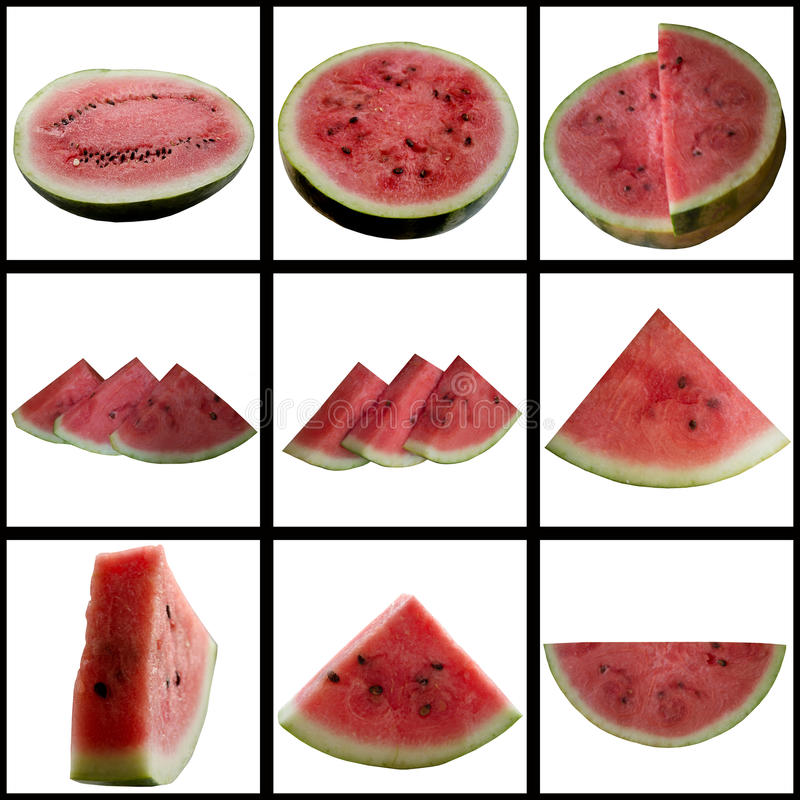 Download Water-melon On A White Background. Stock Image - Image: 36471507