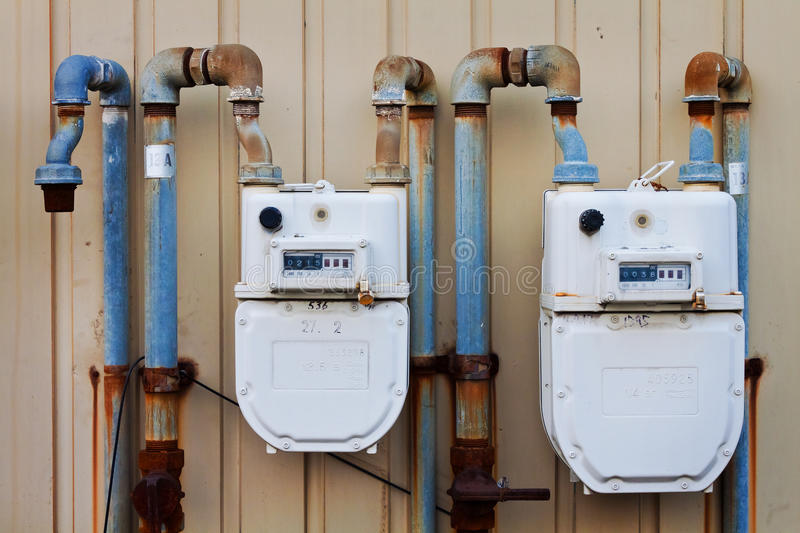 Download Water Meter stock image. Image of metering, valve, science - 27499113