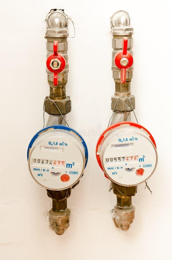 Water Meter royalty free stock photos