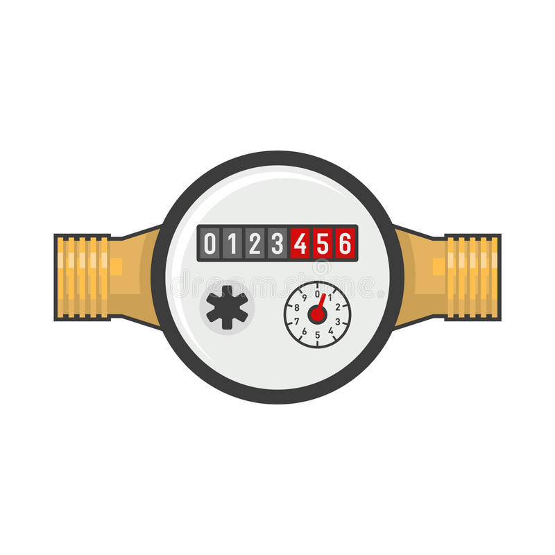 Free Water Meter Icon. Vector Royalty Free Stock Photography - 93777307