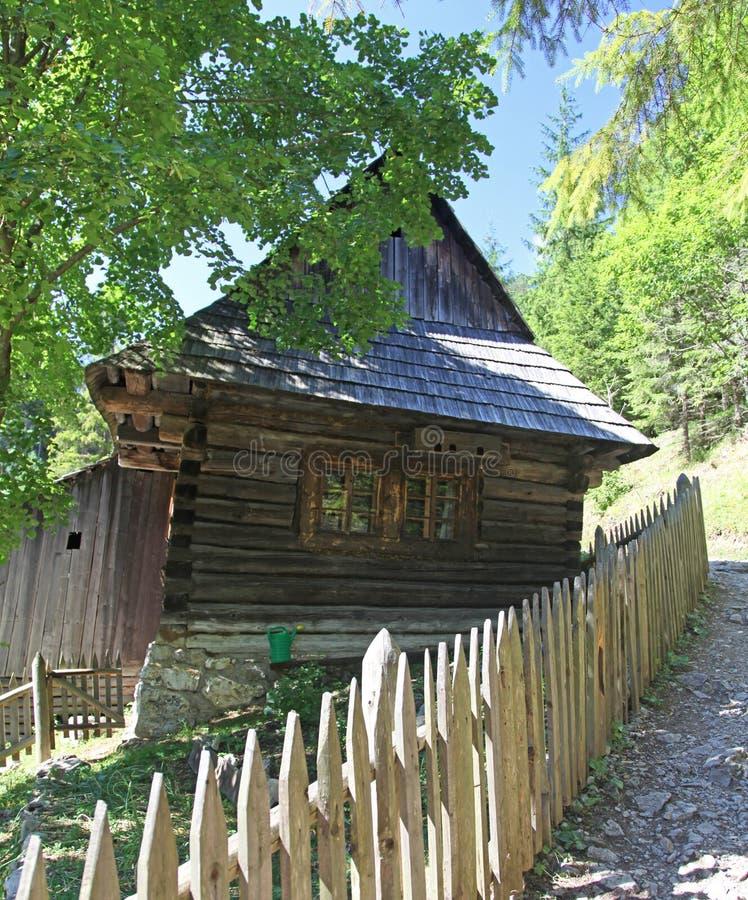 Water mill at Kvacianska dolina - valley in region Liptov, Slovakia royalty free stock images