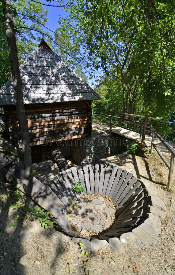 Download Water mill Transylvania stock photo. Image of construction - 26535780