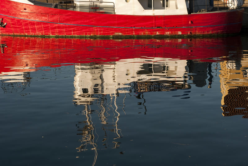 Water Mirror Image Stock Photography