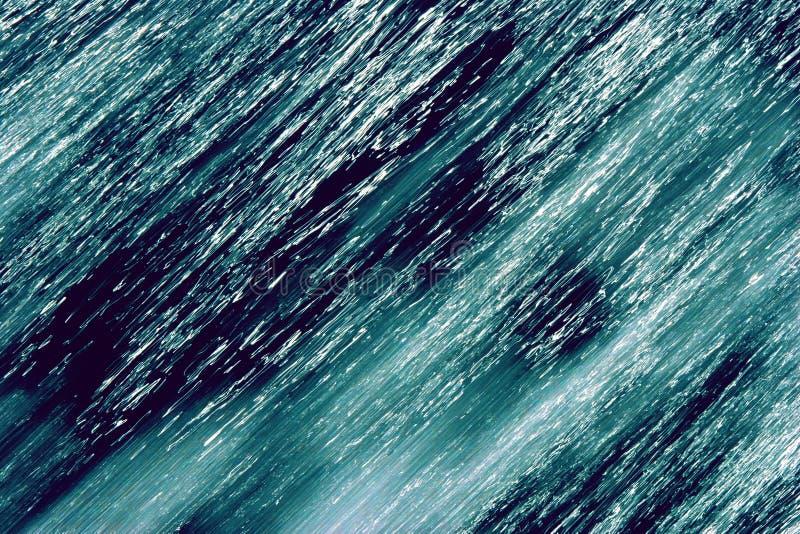 Water modern art royalty free stock image