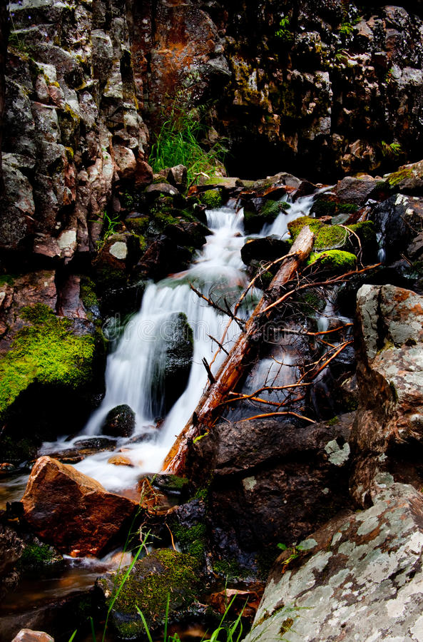 Download Water of Montana stock image. Image of flowing, brown - 10695195