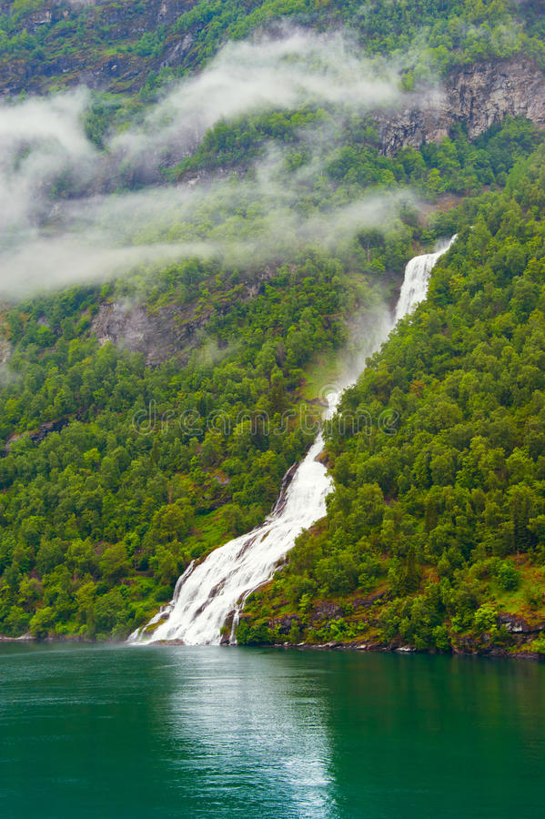 Water and mountain stock photography