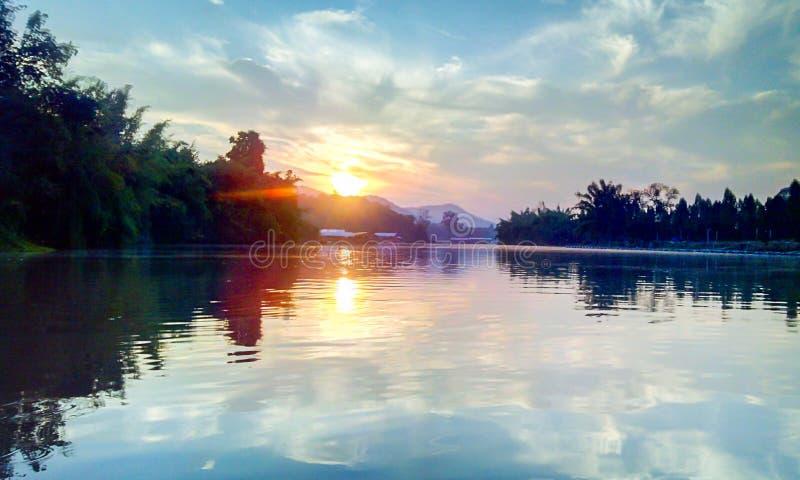 Water mountain sun Thailand stock photos
