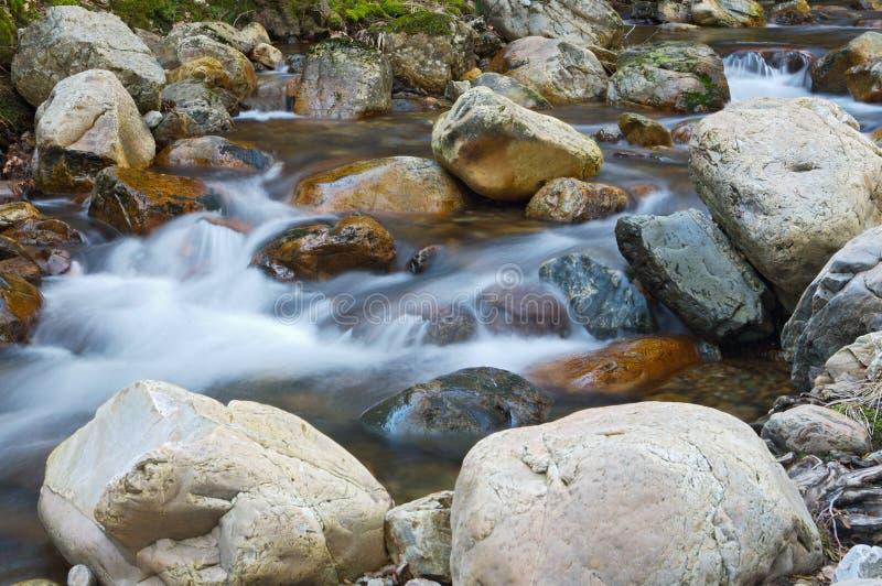 Water movement stock image