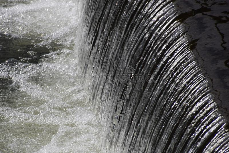Water movement / background material. Water is indispensable to every living creature, but sometimes it becomes a devil and attacks it royalty free stock images