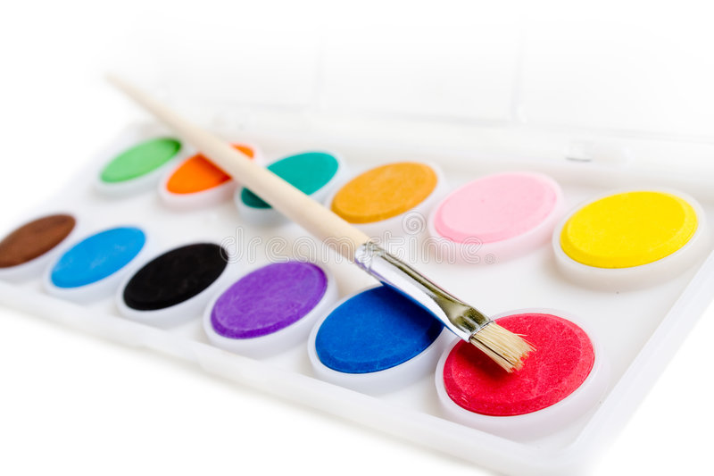 Download Water Paints Stock Image - Image: 2312781