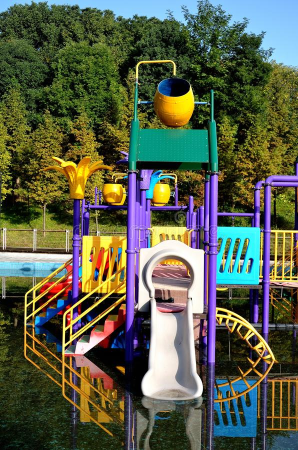 Download Water park stock photo. Image of pool, vacation, yellow - 27498904