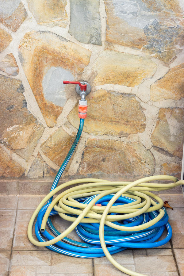 Water pipe and hose stock photos