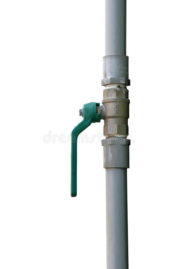 Water pipe and joints. Connection water pipes and joints royalty free stock photo