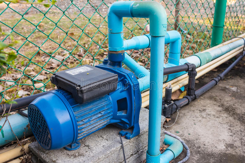 Water pipes royalty free stock photography