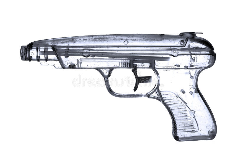 Water pistol royalty free stock image