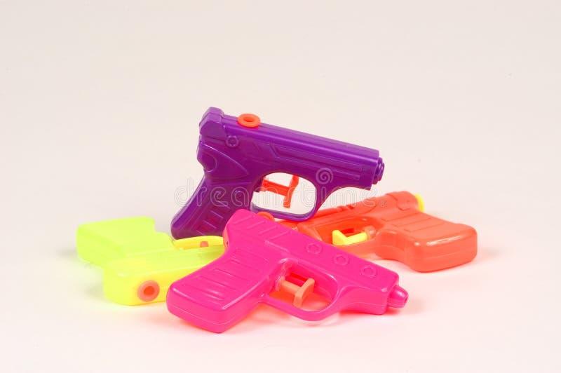 Water Pistols royalty free stock photo