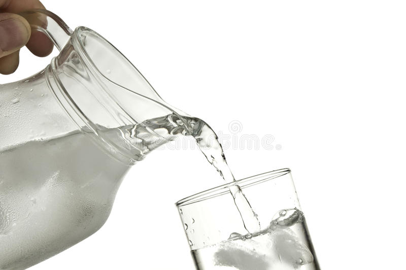 Water pitcher royalty free stock image