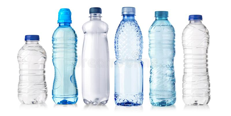 Water plastic bottle royalty free stock images