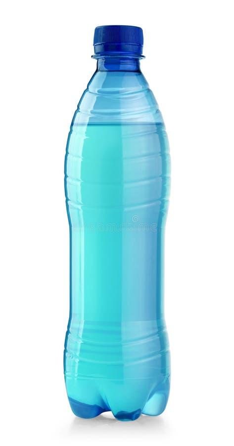 Water plastic fles royalty-vrije stock afbeelding