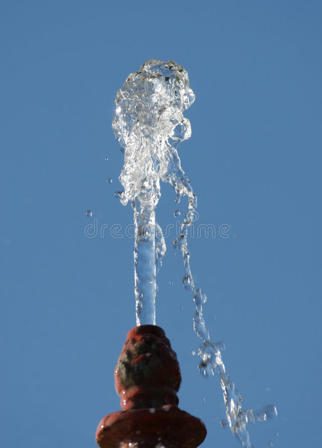 Water Plume royalty free stock images
