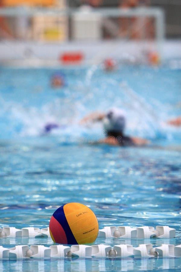 Water polo imagen de archivo