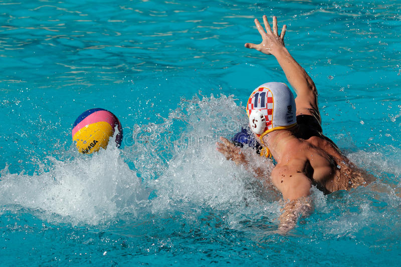 Download Water polo action editorial image. Image of college, splash - 18194280