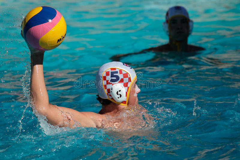 Download Water polo action editorial image. Image of activity - 18194310