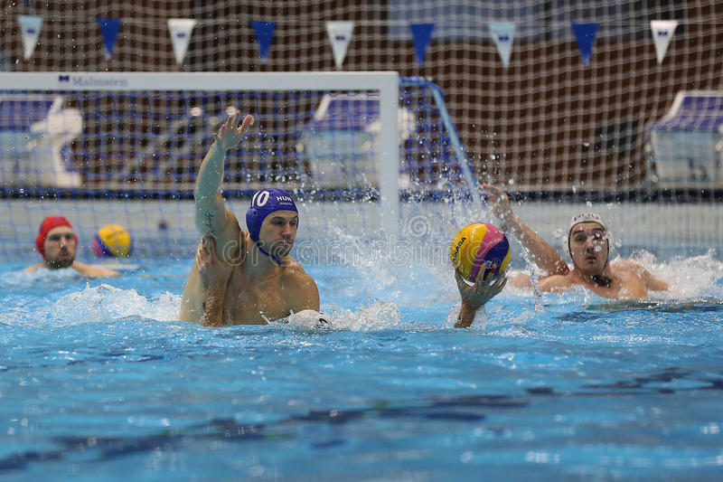 Download Water polo action editorial stock image. Image of attack - 51642324