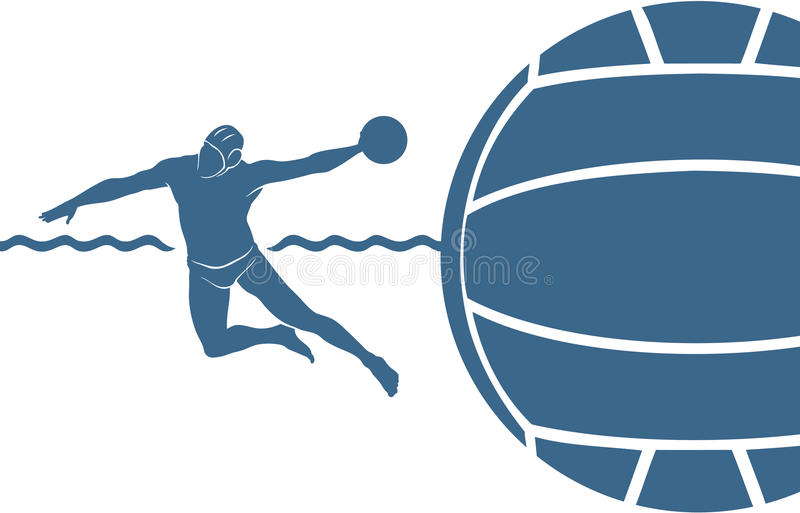 Water Polo Background Stock Images