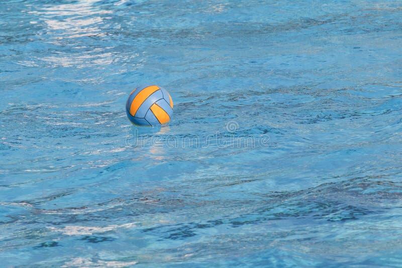 Water polo ball stock photography