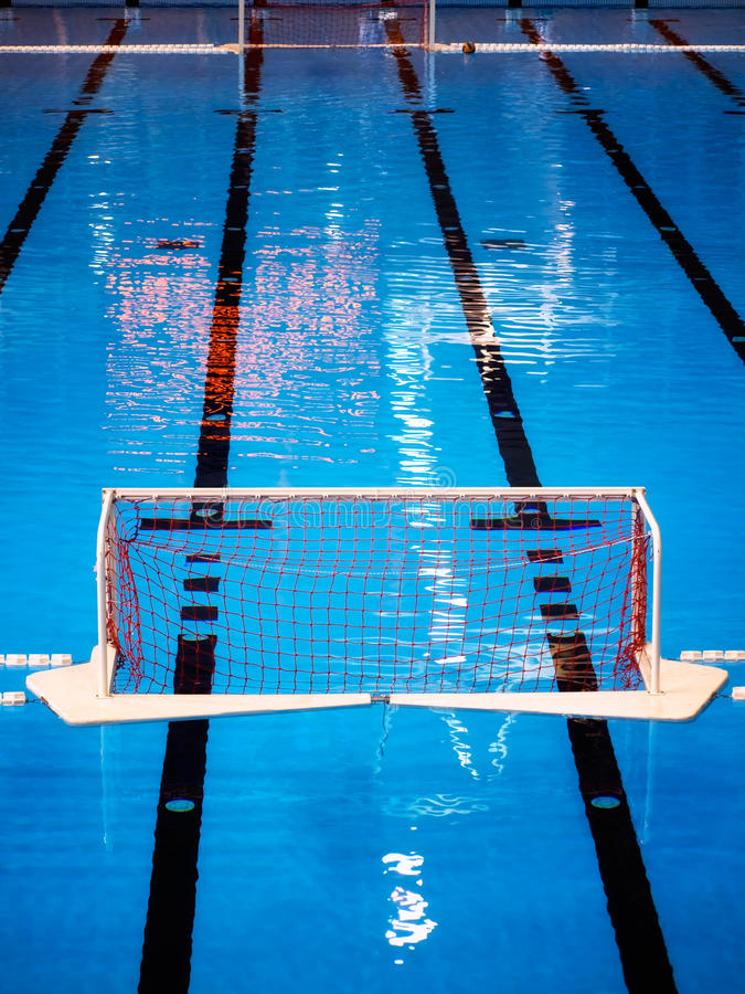 Water polo pool stock images